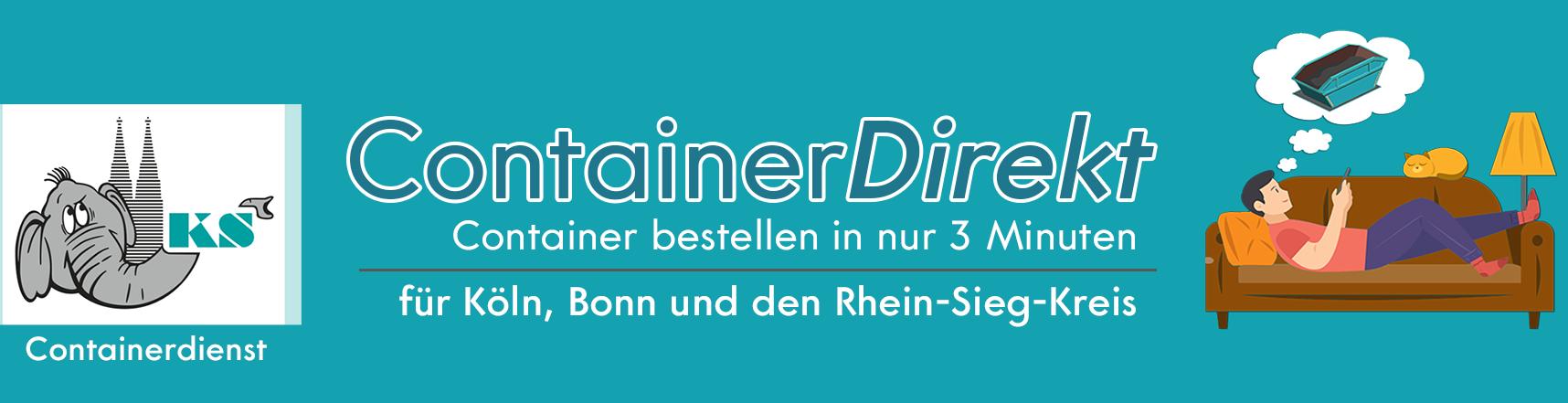 ContainerDirekt – Container Mieten in Bonn Köln Troisdorf Siegburg & Umgebung